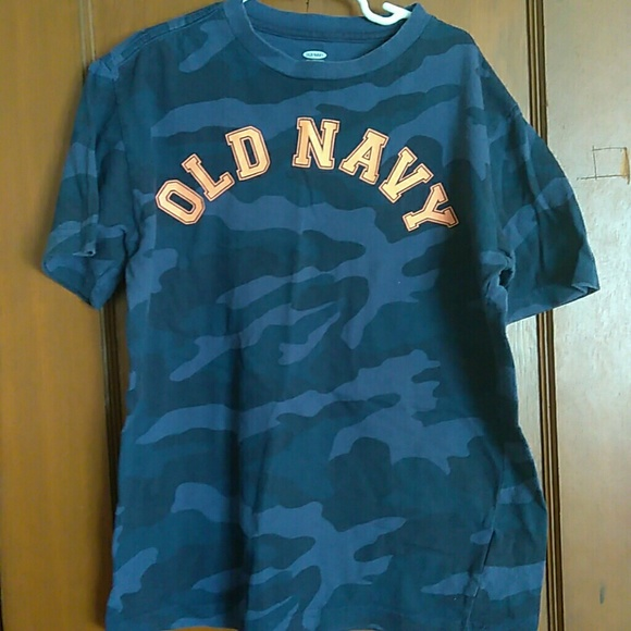 Old Navy Other - Blue camo Old Navy Tshirt